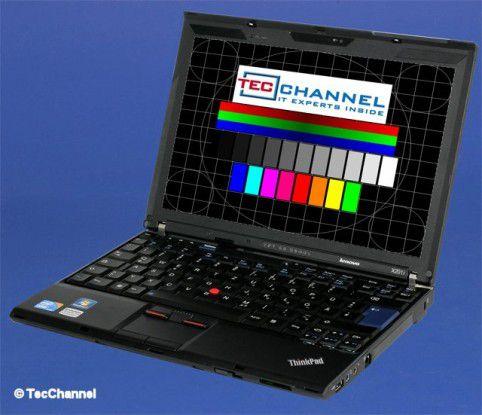 Lenovo ThinkPad X201: Das Zwölf-Zoll-Display arbeitet mit 1280 x 800 Bildpunkten und LED-Hintergrundbeleuchtung.