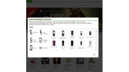 Wahlpflicht: Nicht jede App läuft mit jedem Symbian-Handy von Nokia.