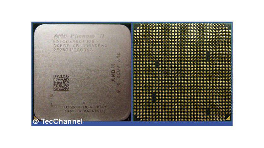 Phenom II X6 1100T Black Edition: AMDs Hexa-Core-Prozessore arbeitet mit 3,3 GHz Grundtaktfrequenz. Durch Turbo CORE können drei Kerne mit bis zu 3,7 GHz arbeiten.