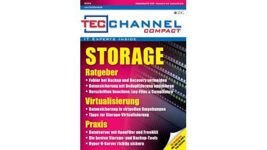 """Das TecChannel-Compact 08/2010: 160 Seiten rund um das Thema """"Storage"""""""