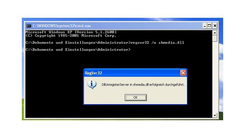 Fehler beheben: Gibt es Probleme bei der Miniaturansicht, lässt sich die Vorschau per Kommandozeile deaktivieren.