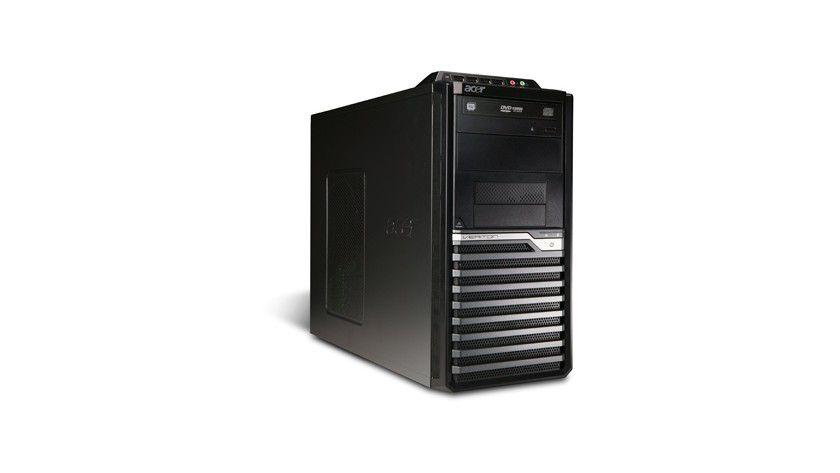 Arbeitsstation: Der Acer Veriton M275 ist als Bürorechner universell einsetzbar.