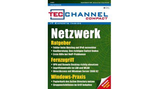 """Das TecChannel-Compact 01/2011: 160 Seiten rund um das Thema """"Netzwerk""""."""