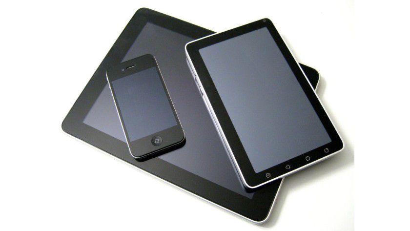 Achtung: Mobile Geräte stellen in Unternehmen oft ein enormes Sicherheitsrisiko dar.