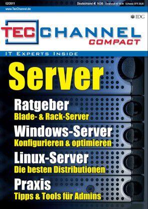 TecChannel Compact 02/2011: Über 160 Seiten Praxisbeiträge und Grundlagen zum Thema Server.