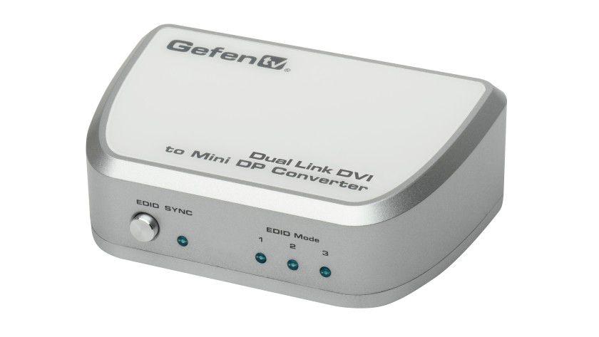Konverter: DisplayPort-Displays lassen sich mit dem Konverter an DVI-Systeme anschließen.