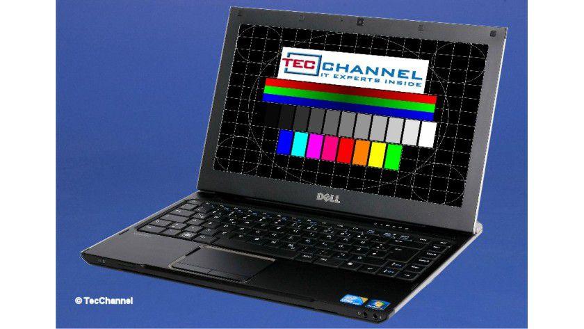 Dell Vostro V130: Das 13-Zoll-Display arbeitet mit einer Auflösung von 1366 x 768 Bildpunkten und LED-Hintergrundbeleuchtung.