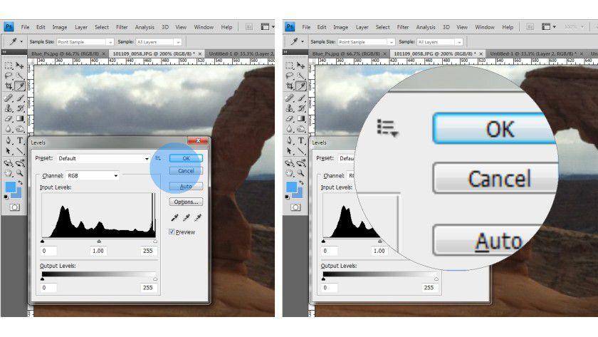 Pointing Magnifier: Nutzer mit Sehschwächen klicken zunächst grob auf das Zielobjekt, dann erfolgt eine Vergrößerung.