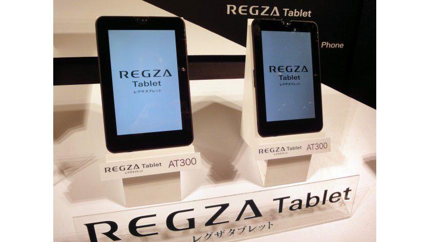 Toshiba Tablet AT300: Nvidia Tegra 2 und Android 3.0 kennzeichnen das 10,1-Zoll-Gerät.