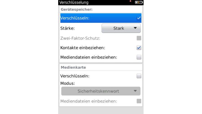 Mehr Sicherheit: Verschlüsselte BlackBerrys sind für Diebe keine Informationsquelle.