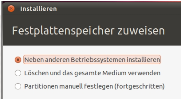 Ubuntu parallel zu Windows 7 installieren