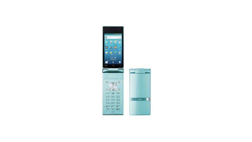 Und Klappe: Sharp hat das erste Android-Smartphone in Klapphandy-Ausführung vorgestellt.
