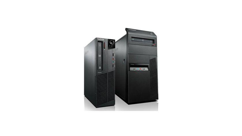 Universell: Den Lenovo ThinkCentre M91p gibt es in unterschiedlichen Bauformen.