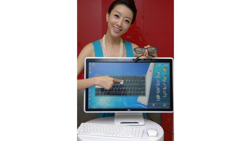 Sandy Bridge: LG verbaut beim V300 Intels aktuelle Prozessorgeneration.