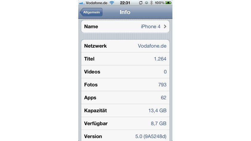 iOS 5 Beta 2: Die zweite Beta-Version 9A5248d beseitigt zahlreiche Bugs, optimiert die Performance und schaltet Features frei.