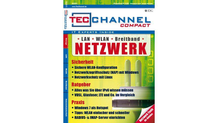 TecChannel Compact 05/2011: 160 Seiten Praxisbeiträge und Grundlagen rund um das Thema Netzwerk.
