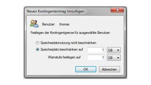 Ressourcenmanager für Dateiserver: Workshop - Kontingentverwaltung mit Windows Server 2008 R2