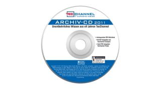 Großes PDF-Archiv: Elf Jahre TecChannel auf einer CD