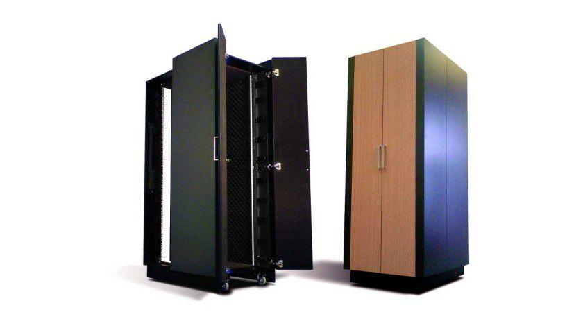 Flexibel: Mit NetShelter CX soll sich IT auch in nicht IT-dedizierten Räumen platzieren lassen.