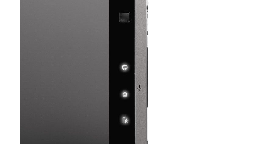 Bedienung: Zusätzlich zum Touchscreen verfügt das WindPad über drei Soft-Keys und einen Maus-Cursor.