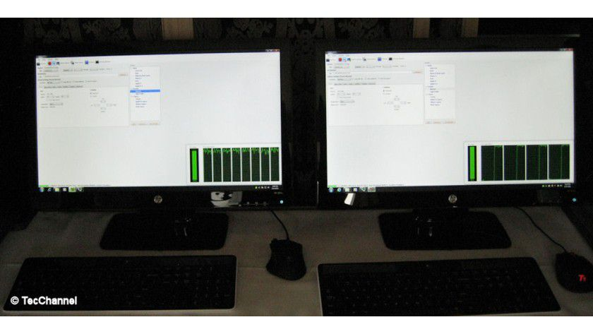 FX vs. Core i5-2500K: Bei einer AMD-Demo wandelte der Bulldozer-Prozessor ein Video zirka 21 Prozent schneller um.