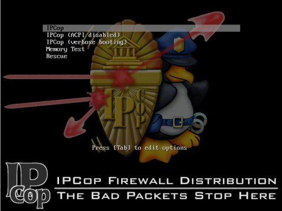 IP-Polizei: Die Firewall-Distribution IPCop 2.0.0 bietet Schutz für das Netzwerk und bringt eine übersichtliche Administrations-Oberfläche mit sich.