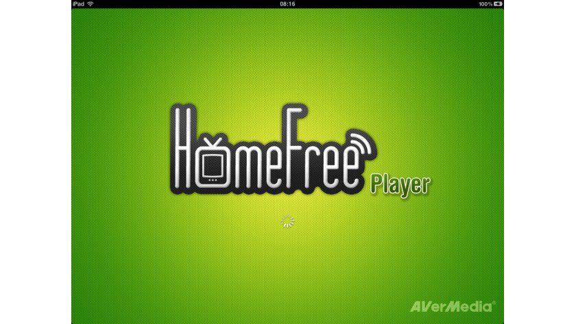 Schaltzentrale: Die kostenlose iPad-App HomeFree-Player von Avermedia übernimmt per WLAN die Steuerung der Hardware.