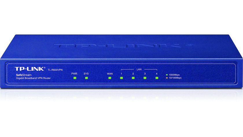 Kontaktfreudig: Der VPN-Router TL-R600VPN von TP-Link unterstützt bis zu 20 IPsec- und 16 PPTP-Verbindungen.