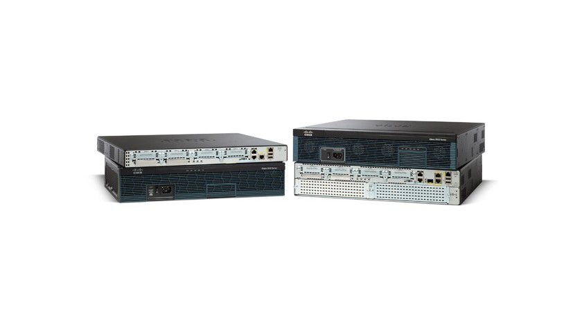 Netzwerk-Router: Cisco 2900 Series Integrated Services Router.