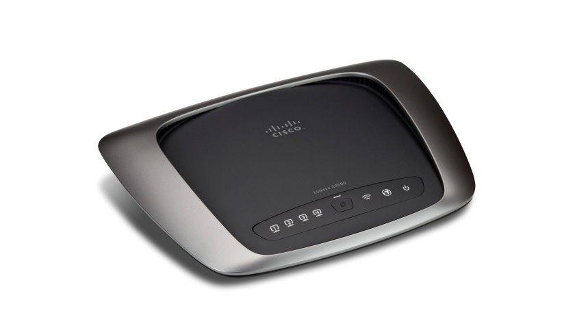 Multifunktional: Mit dem WLAN-Router Linksys X3000 von Cisco schließen Anwender ihr drahtloses Heimnetzwerk über DSL oder Breitbandkabel an das Internet an