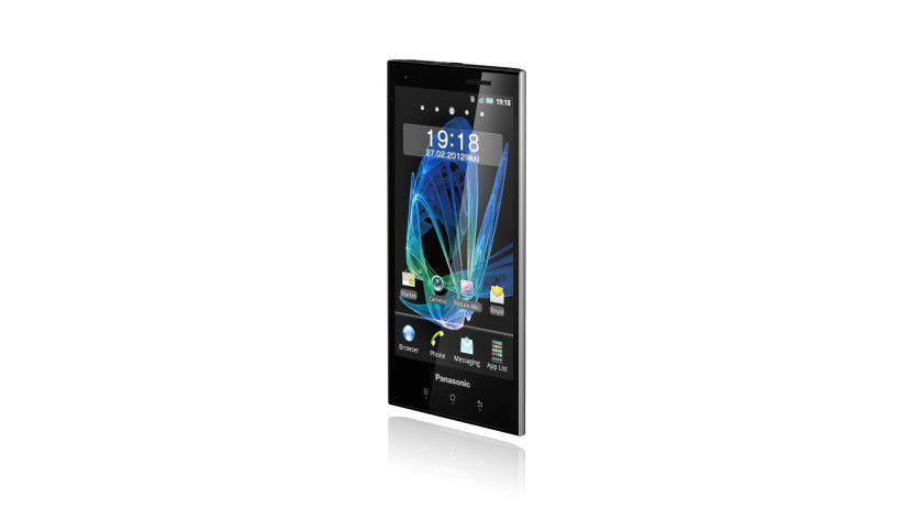 Panasonic Eluga: Das Android-Smartphone ist mit einem 4,3-Zoll-Display ausgestattet und wiegt 103 Gramm.