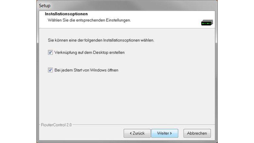Automatik: Das Tool lässt sich so konfigurieren, dass es bei jedem Windows-Start geladen wird.