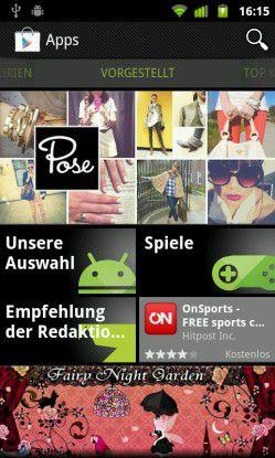 Android Applikationen: Die Apps des Google-Play-Market erweitern das Betriebssystem für Smartphones und Tablets um viele nützliche Programme.