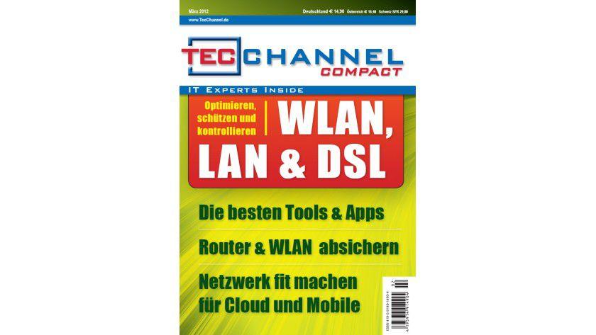 """TecChannel Compact 01/2012: 160 Seiten Praxisbeiträge und Grundlagen rund um das Thema """"Netzwerk""""."""