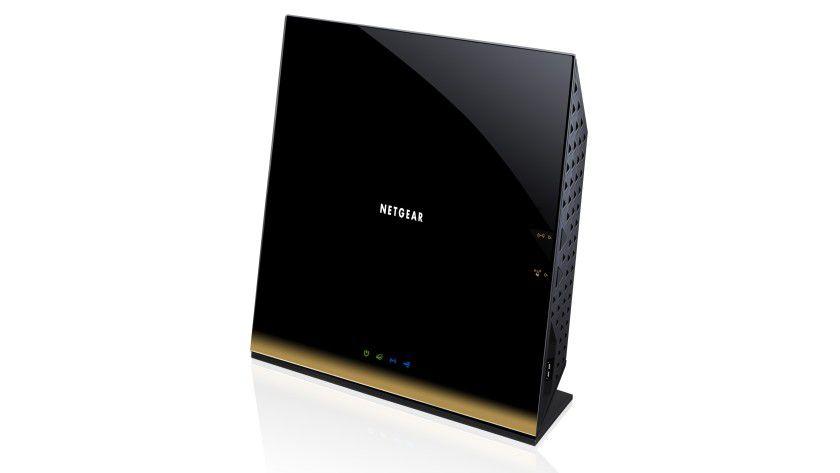 Netgear R6300: Der WLAN-Router arbeitet mit Gigabit-WLAN-Geschwindigkeit.