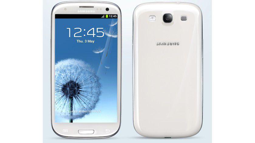 Technik vorhanden: Theoretisch ist das Samsung Galaxy S3 für NFC-Bezahltransaktionen ausgelegt, in der Praxis ist das in Deutschland aber noch nicht wirklich möglich.