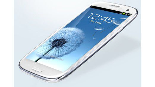 Das Samsung Galaxy SIII.