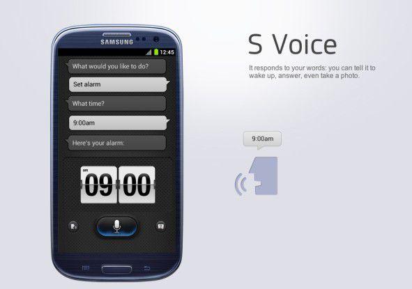 Siri lässt grüßen: S-Voice auf dem Galaxy S III
