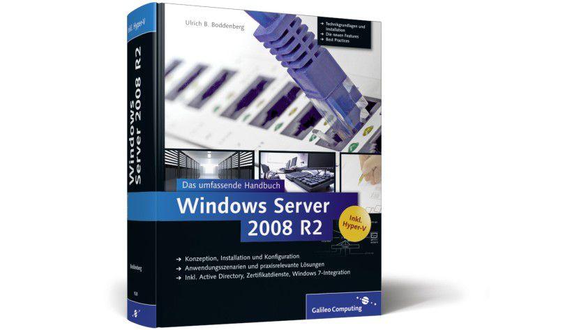 Windows Server 2008 R2 - Das umfassende Handbuch: Das Online-eBook im Wert von 54,90 Euro ist über 1400 Seiten stark.