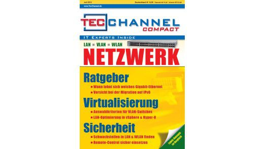 TecChannel Compact 05/2012: 160 Seiten Praxisbeiträge und Grundlagen rund um das Thema Netzwerk.