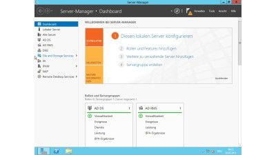 Server-Manager, Active Directory, PowerShell 3.0 und Hyper-V 3.0: Neue Admin-Tools für Windows Server 2012