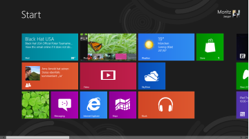 Windows 8 auf dem Tablet