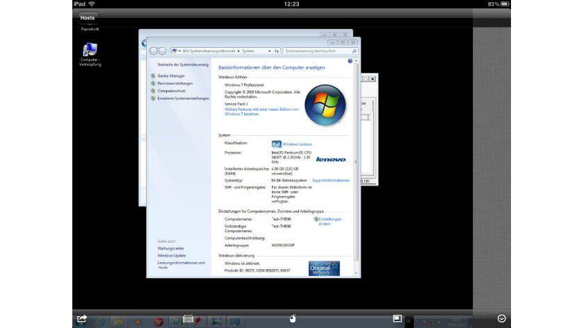 Remote-Zugriff: Mit dem iPad können Anwender über die App Netop Remote Control Mobile auf unterschiedliche Rechner per Remote-Verbindung zugreifen.