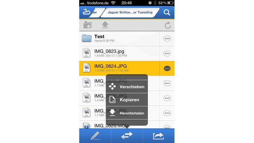 Aus der Ferne: PocketCloud Explore erlaubt den Zugriff auf die Dateien des PCs mit dem iPhone.