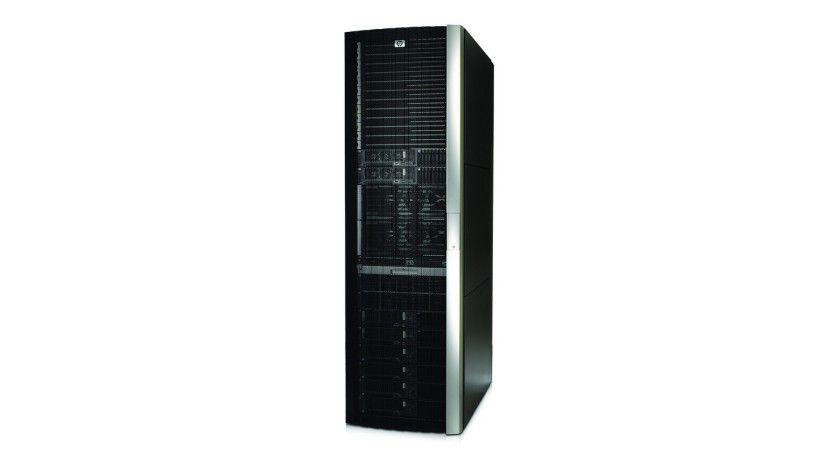 Arbeitstier: Der Rack-Server HP NonStop NS2100 ist ein Einstiegs-Server für geschäftskritische Datenverarbeitung.