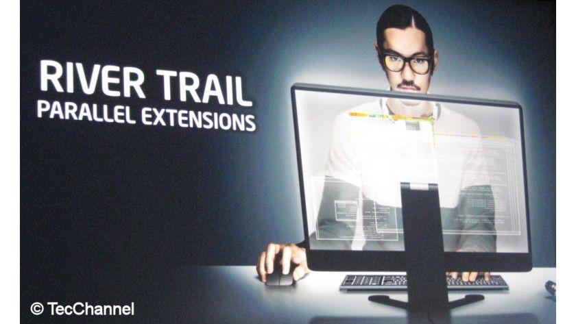 Intel River Trail: Die Technologie parallelisiert JavaScript.