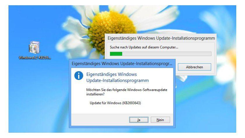 Start: Das Installieren der Remoteserver-Verwaltungstools in Windows 8 lässt sich problemlos durchführen.
