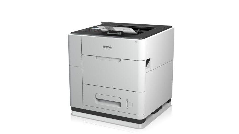 Brother HL-S7000DN: Gut, das im Ausgabefach bis zu 500 Blatt Platz finden. Der HL-S7000DN soll bis zu 100 Seiten pro Minute produzieren.