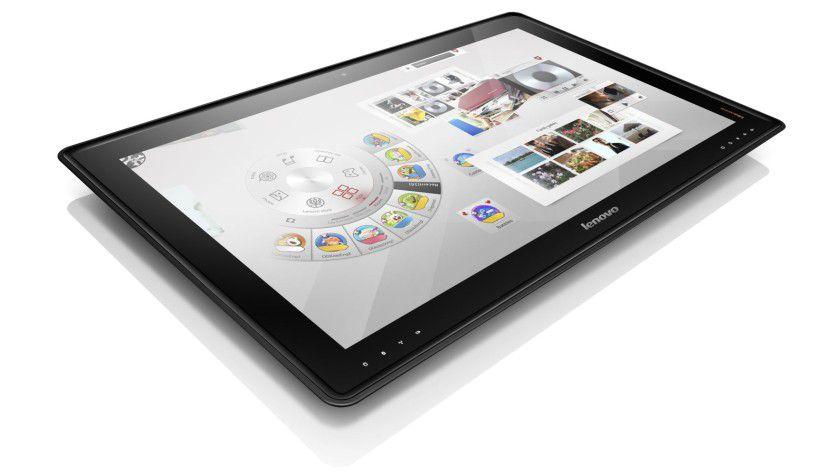 Lenovo IdeaPad Horizon: Der Table PC kommt mit einem touchfähigen 27-Zoll-Display.