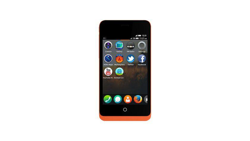 Keon: Das Smartphone mit Firefox OS soll im Februar bei Entwicklern Einzug halten.